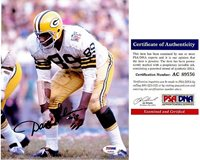 Dave Robinson Autographed Signed Green Bay Packers 8x10 Photo - 2013 Hall of Famer - PSA/DNA AuthenticCUSTOM FRAME YOUR JERSEY