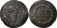 4 Soldi 1765 Italy Staaten Coin, Corsica, General Pasquale Paoli Billon
