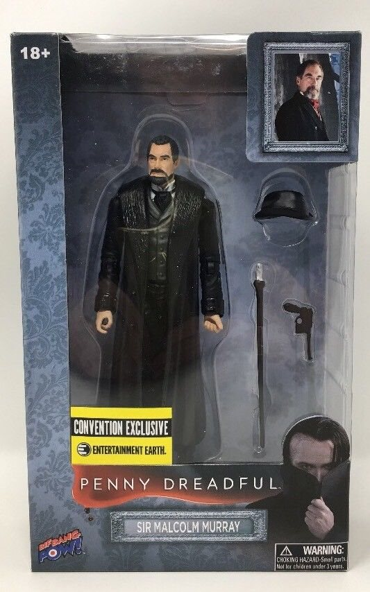 Penny Dreadful Malcolm Murray Figure Convention Exclusive Entertainment Earth