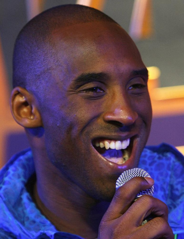 Kobe Bryant With The Mouth Open 8x10 Photo Print