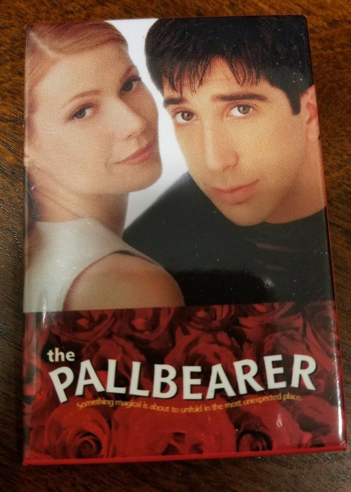 The Pallbearer pin badge Gwyneth Paltrow, David Schwimmer