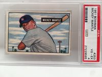 1951 Bowman Mickey Mantle 253 Psa 4 The Real Mantle Rookie Card
