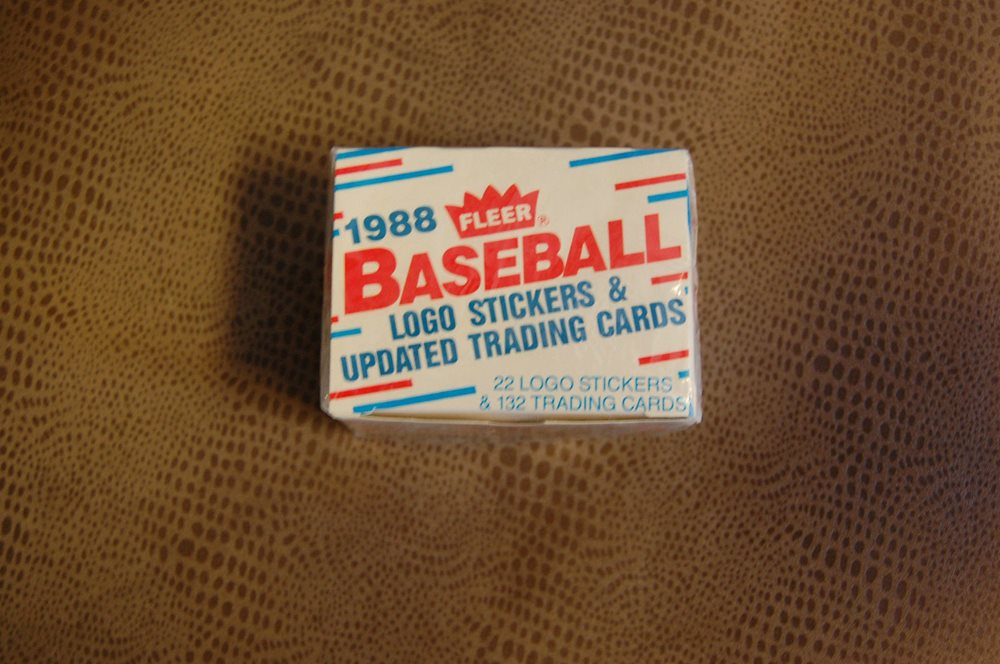 1988 Fleer Baseball Logo Stickers Updated Trading Cards