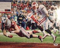Joey Bosa Autographed Ohio State Buckeyes 11x14 Photo PSA/DNA COA