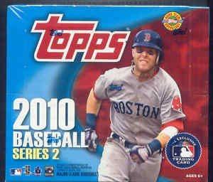 2010 Topps Series 2 Baseball Cards Jumbo Hobby Box 10 Packsbox 50 Cardspack 500 Cardsbox Randomly Inserted Autographs Memorabilia Cards