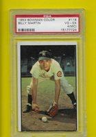 1953 Bowman Billy Martin New York Yankees #118 ⭐️ PSA Graded 4 MC