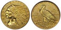 1909-O Indian Half Eagle. NGC graded AU58.