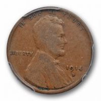 1924-S 1c Lincoln Wheat Cent Penny VG Very Good