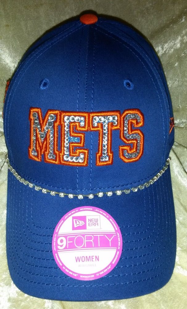 New York NY Mets Womens New Era Brand Rhinestone MLB Ba 2a0e24fe36