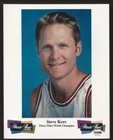 5af372715 Steve Kerr Chicago Bulls Autographed Signed Memorabilia 8x10 Photograph  PSA DNA Certified AutographCUSTOM FRAME YOUR