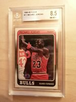 1988-89 Fleer Michael Jordan #17 BGS 8.5
