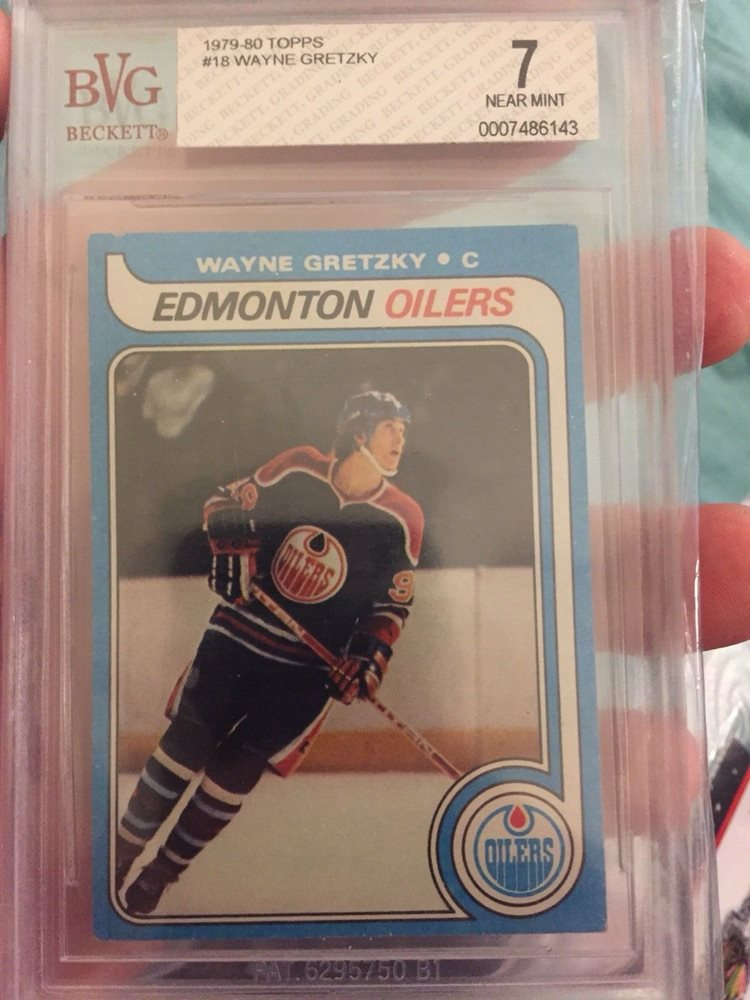 79 80 Topps Wayne Gretzky Rookie Bvg 7 Rc