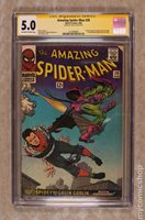 Amazing Spider-Man #39 CGC 5.0 SS Stan Lee
