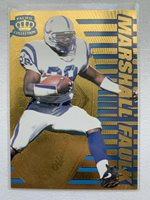 1996 Pacific Collection GOLD Marshall Faulk