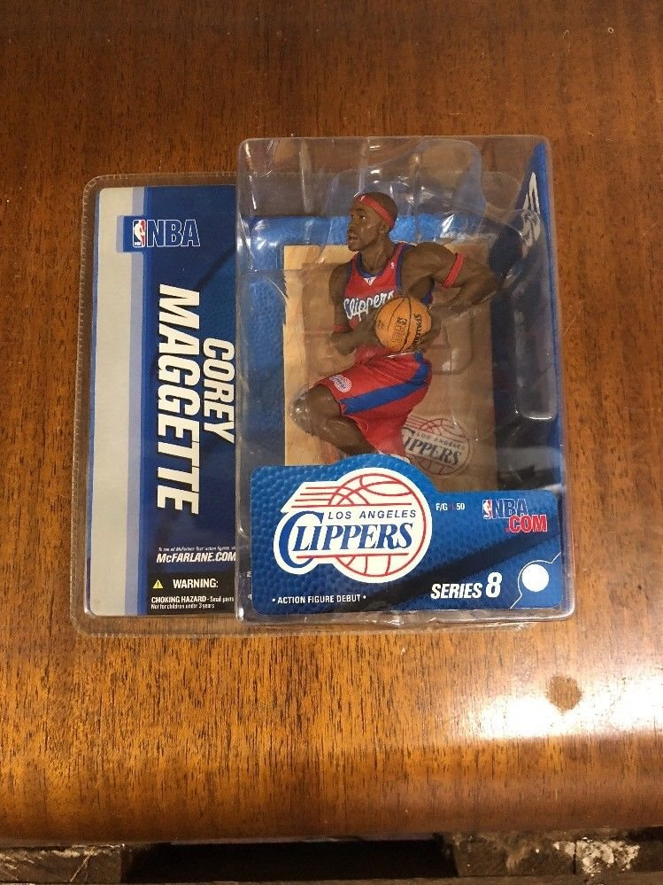 2005 McFarlane NBA Series 8 Corey Maggette Los Angeles Clippers Action Figure
