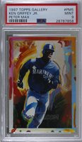 1997 Topps Gallery - Peter Max #PM5 - Ken Griffey Jr. [PSA 9 MINT]