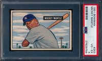 1951 Bowman Mickey Mantle RC PSA 4