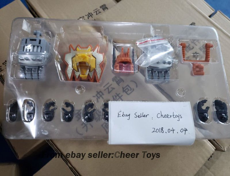 Predaking Feral Upgrade Kits Claws figure Transformation Jinbao oversize