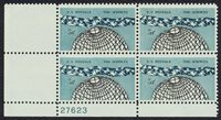 #1237 5c The Sciences, Plate Block [27623 LL] Mint **ANY 4=FREE SHIPPING**
