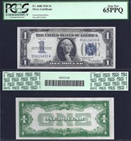 SM Silver Cert. $1.00 1934 PCGS 65PPQ