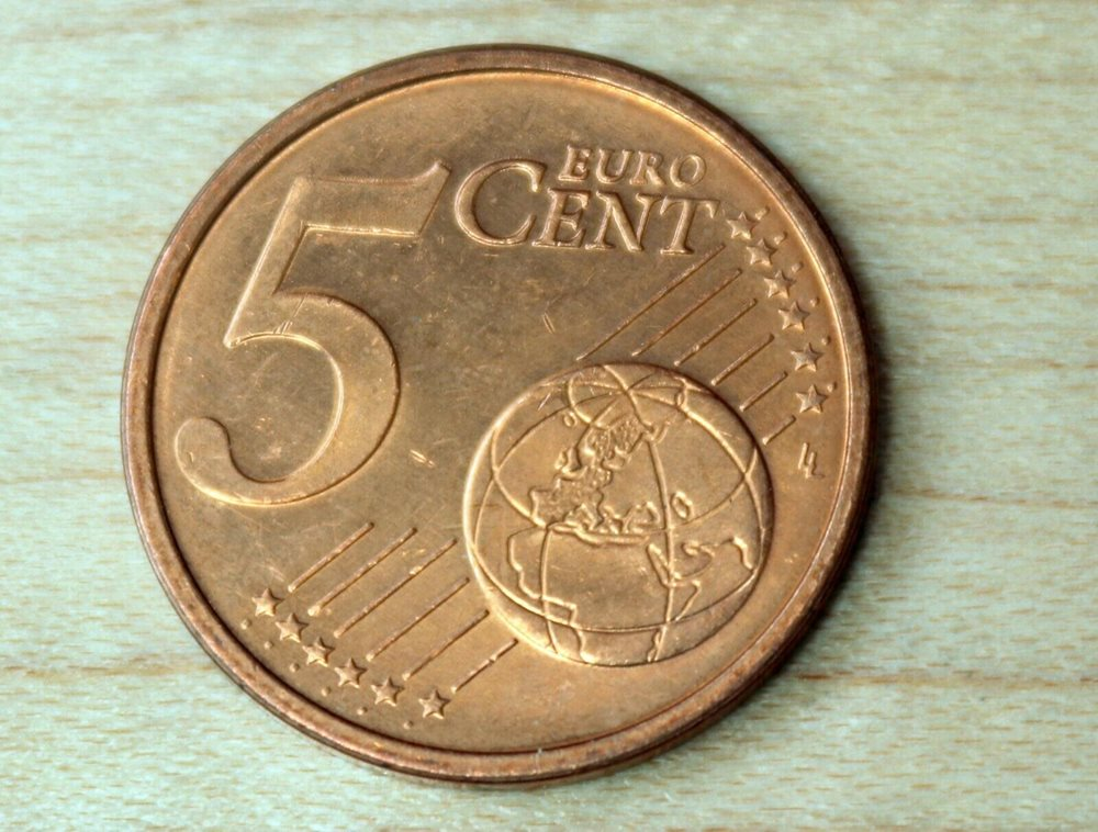 Germany 1,2 /& 5 Euro Cent 2002 UNC