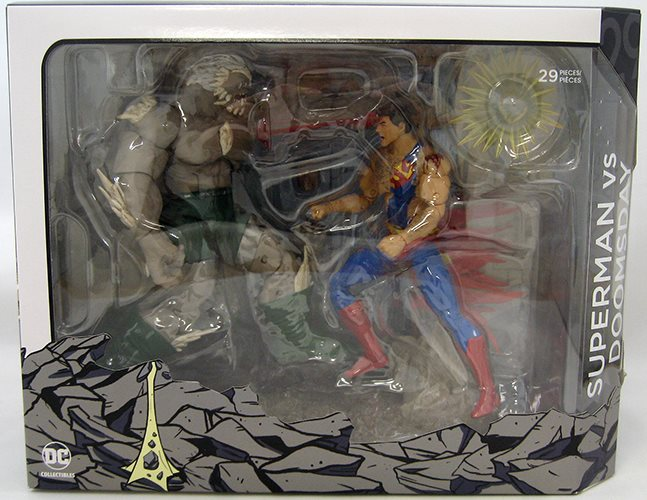 Dc Icons 6 Inch Action Figure Death Of Superman Doomsday Vs