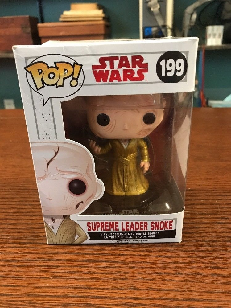 Funko Pop Star Wars Supreme Leader Snoke #199 Vinyl Figure
