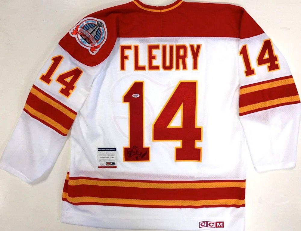 premium selection 9d483 a96e5 calgary flames 1989 vintage jersey