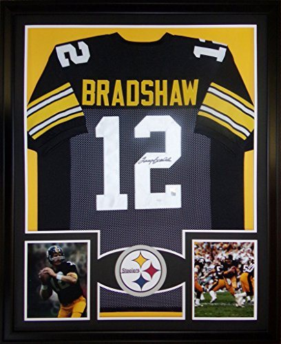 info for 8956a 38238 Terry Bradshaw Framed Jersey Signed JSA COA Autographed Pittsburgh Steelers