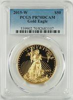 PCGS PR70 1 oz Gold Eagles