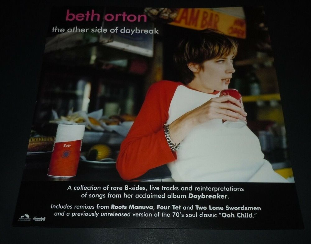 BETH ORTON~The Other Side Of Daybreak~Original Promo Poster Flat~12x12~2003