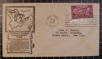 Scott 795 - Ordinance Of 1787 FDC - Typed Address - Anderson - Planty - 795-35