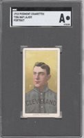 1909-11 T206 Hall of Fame Nap Lajoie (Portrait) of the Cleveland Naps SGC Auth