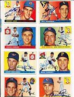 Bill Renna Kansas City Athletics 121 Signed 1955 Topps Card
