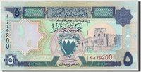 5 Dinars Bahrain Banknote