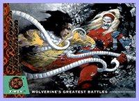 1994 X-Men Ultra #139 Wolverine vs. Omega Red