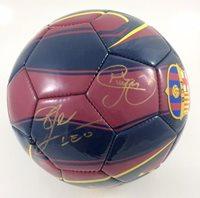 Neymar & Lionel Messi Autographed FC Barcelona Soccer Ball