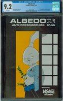 Albedo #2 CGC 9.2 White pages 1st Usagi Yojimbo