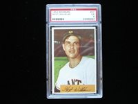 1954 Bowman #57 Hoyt Wilhelm New York Giants - PSA Ex 5