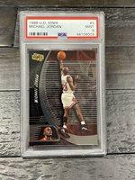 1998 Upper Deck Ionix Michael Jordan #3 PSA 9
