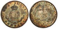 MOMBASA 1888-H AR Rupee PCGS MS63 Birmingham KM-5 Beautifully toned