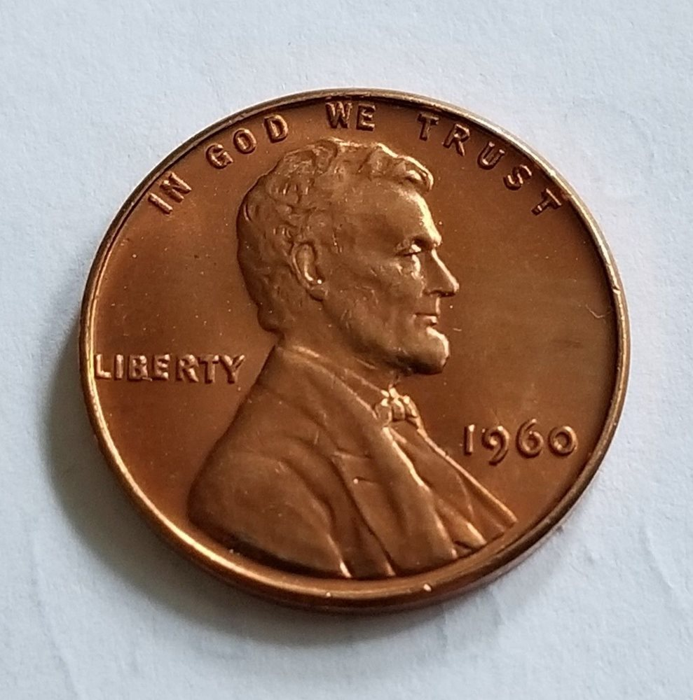 GEM BU RED UNC!!! 1982-D LG DT LARGE DATE COPPER LINCOLN PENNY CENT