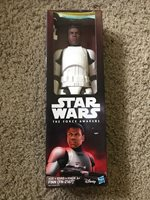 "NEW Star Wars: The Force Awakens Disney FINN Stormtrooper 12"" Action Figure"