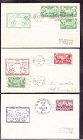 US 785-794 on Roessler First Day Covers (001)