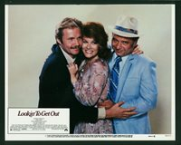 Lookin' To Get Out original 1982 lobby card 11x14 Jon Voight Ann-Margret