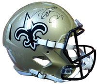 Certified Drew Brees Signed New Orleans Saints Full Size Speed Replica  Helmet - PSA DNA 8cc4c21c0