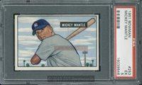 1951 Bowman 253 (R) Mickey Mantle PSA 5 - $15000.00