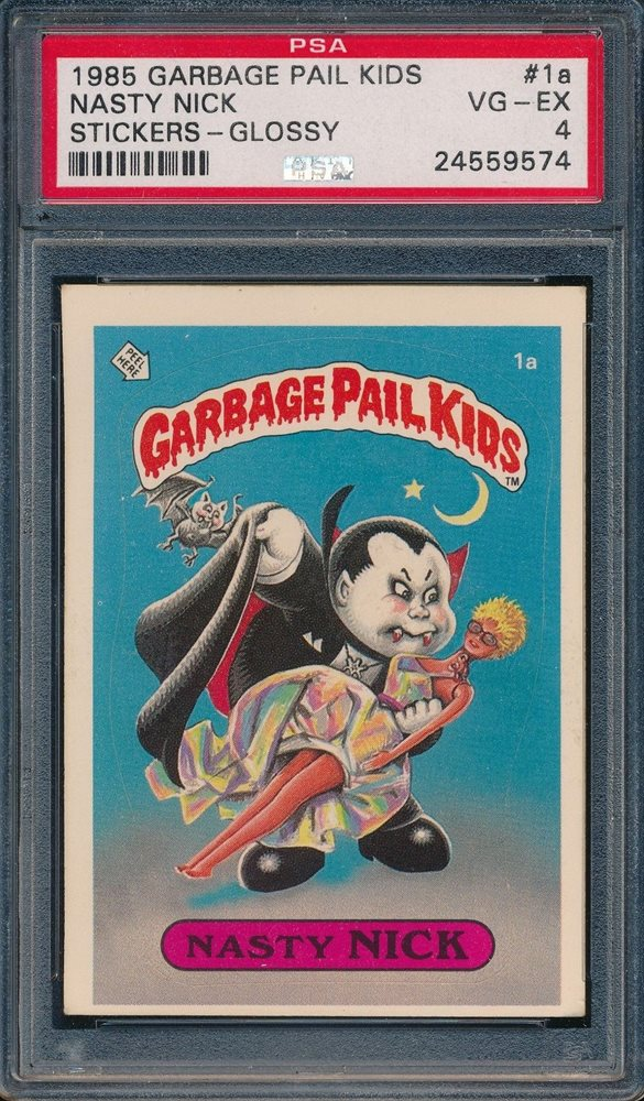 Ebay Auction Item 401656778010 Non Sport Cards 1985 Garbage Pail Kids Stickers
