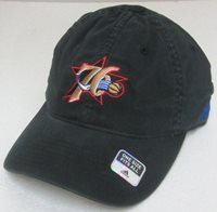 555a91c8531 NBA Philadelphia 76ers Black Relaxed Fit One Size Fits All Fitted Hat By  adidas