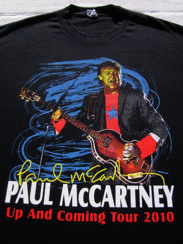 PAUL McCARTNEY 2010 Tour Hollywood Bowl Concert LARGE T